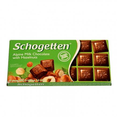 Шоколад Schogetten Hazelnuts 100 ГР Артикул: 7419