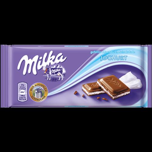 Шоколад Milka Youghurt 100гр (плитка) Артикул: 5167