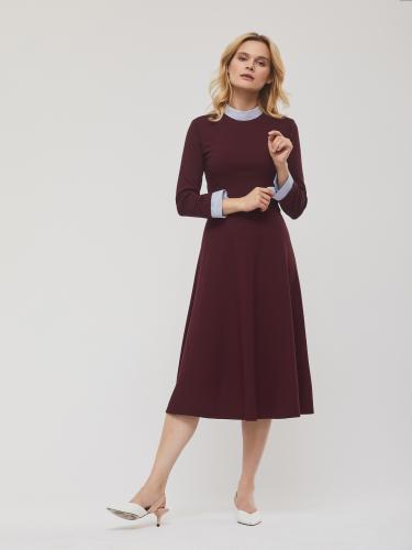 Расклешенное платье длины