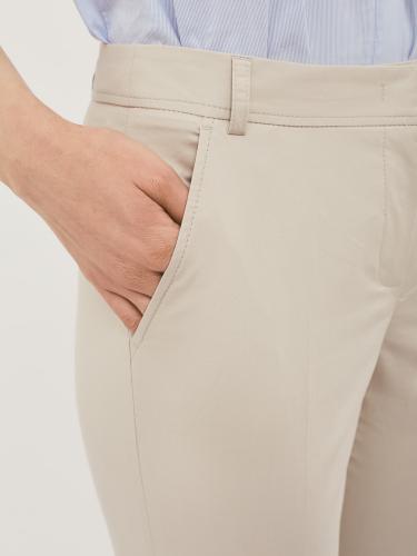 Облегающие хлопковые брюки