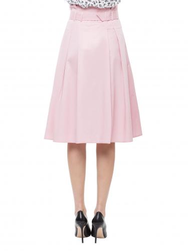 Расклешённая юбка с завышенной талией