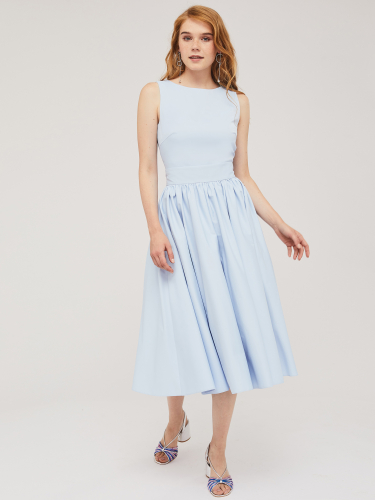 Топ и пышная юбка