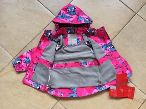 Демисезонная мембранная куртка цвет Tender Pink Fox р. 92+