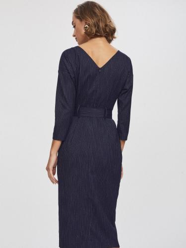 Платье в стиле 80-х