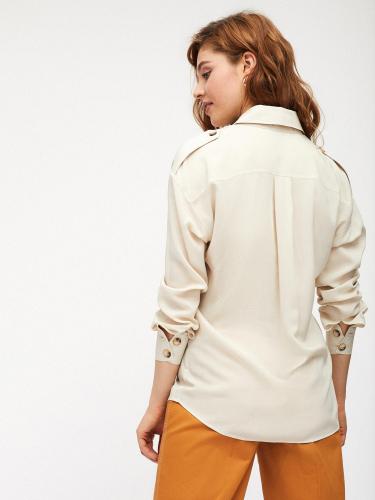 Блуза рубашечного кроя
