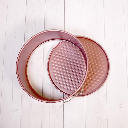 Форма для выпечки со съемным дном Caramella розовая КРУГ 18 см
