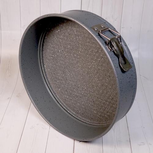 Форма для выпечки со съемным дном Caramella ГРАНИТ круг 26 см