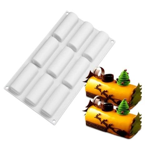 Форма для муссовых десертов Буше 8*3 см, 9 ячеек