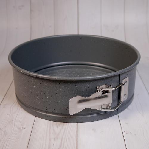 Форма для выпечки со съемным дном Caramella гранит круг 18 см