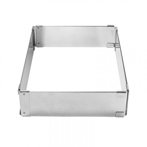 Прямоугольник раздвижной Профессиональный от 18*25 до 31*46 см, высота 5 см (металл 0,8 мм)