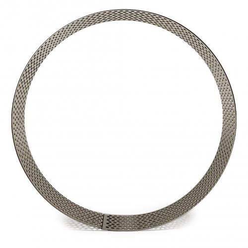 Кольцо для выпечки перфорированное d=20 см, h=4 см