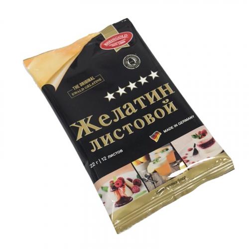 Листовой желатин RHEINGOLD 22 гр, 220 blum