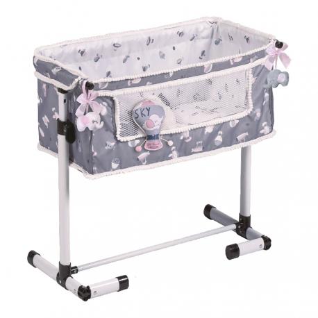51235 Кроватка для куклы серии Скай, с опускающимся бортиком, 50см
