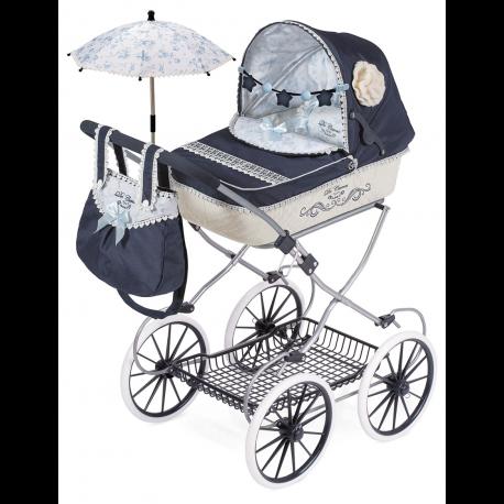81020 Коляска складная с сумкой и зонтиком серии Романтик, 81 см
