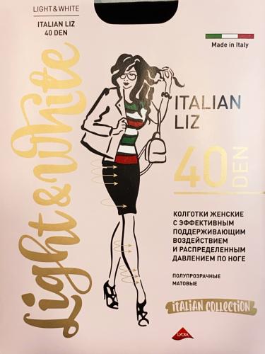 light&White - Italian Liz 40 DEN капучино Колготки