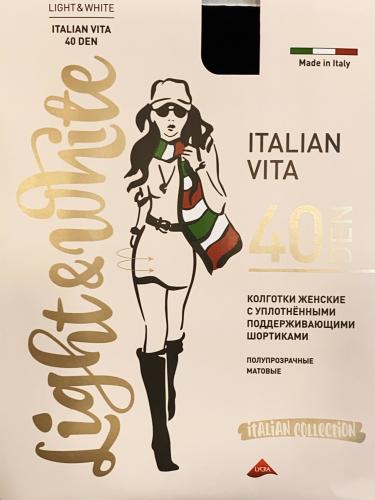 light&White - Italian Vita 40 DEN капучино Колготки