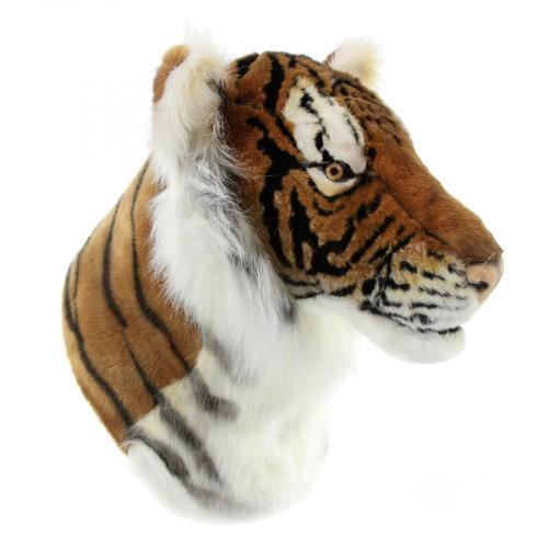7140 Декоративная игрушка Голова тигра, 35 см