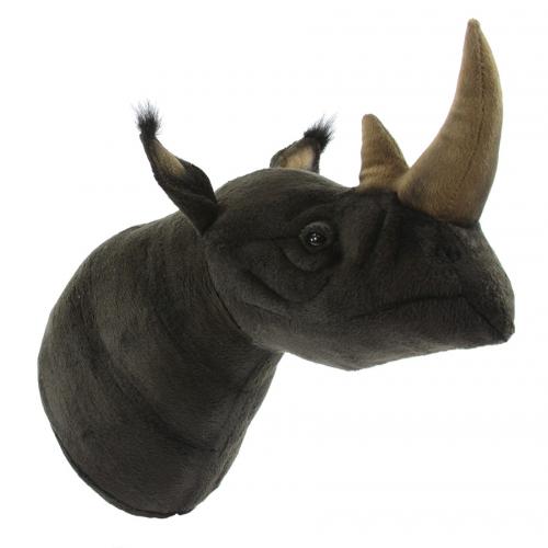 7148 Декоративная игрушка Голова носорога, 55 см