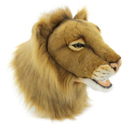 7147 Декоративная игрушка Голова льва, 39 см