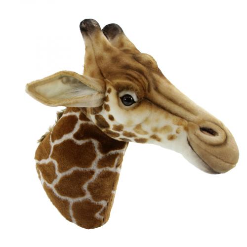 7149 Декоративная игрушка Голова жирафа, 35 см