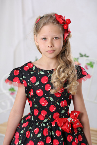 1680р.2100р.Платье МТ 17-4 вишенка