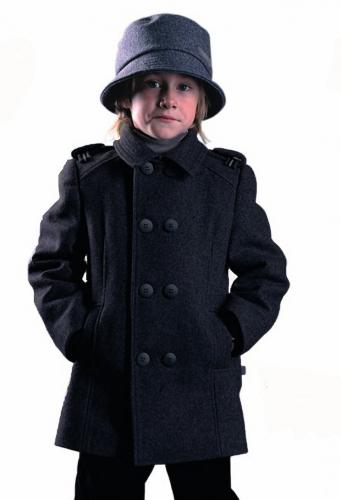 800р.4000р.Пальто для мальчика М125 Лицей черный