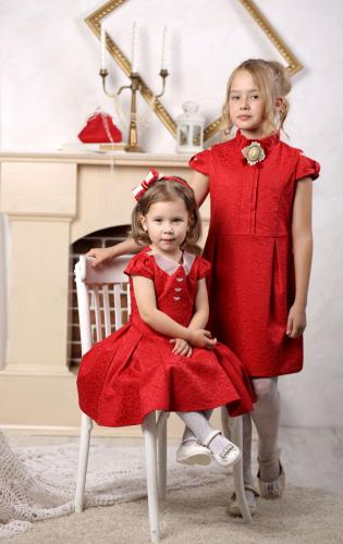 1155р.1650р.Платье для девочки Грация М-392 красный