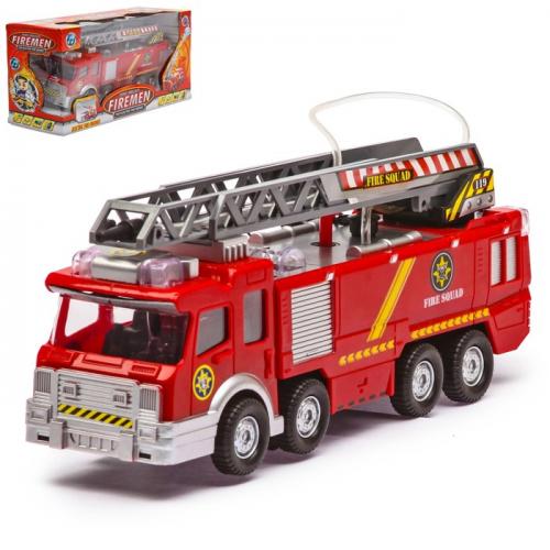 Машина «Пожарная», световые и звуковые эффекты, стреляет водой