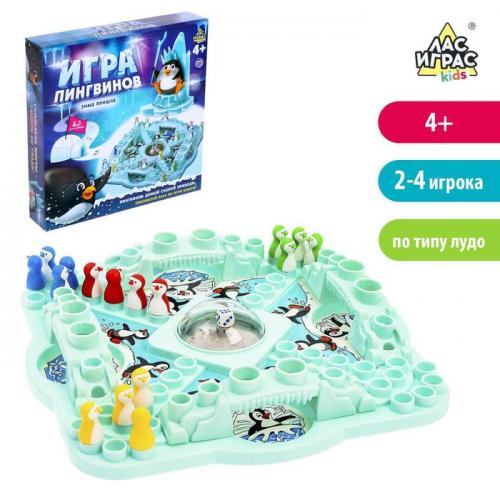 Настольная игра на везение «Игра пингвинов»