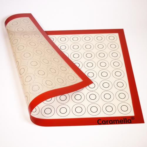Коврик силиконовый армированный для макарун 60*40 см (96 кругов по 2-4 см)