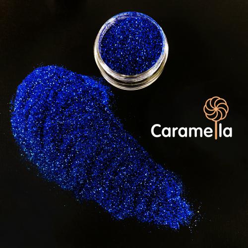 Глиттер съедобный пищевой Синий Caramella, кг