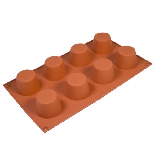 Силиконовая форма Конус мини, 8 ячеек