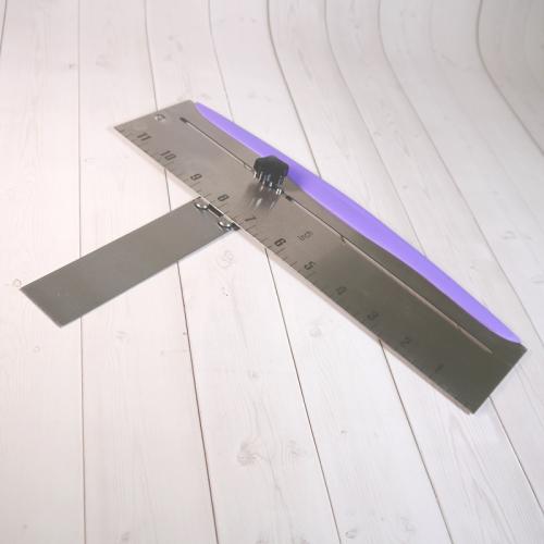 Шпатель угловой регулируемый с разметкой 30 см