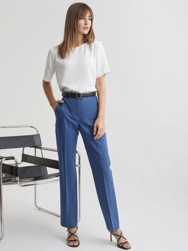 Базовая блуза с подплечниками