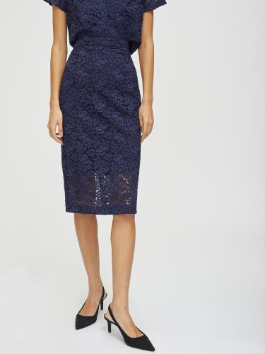 Кружевная юбка на талии