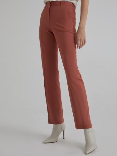 Прямые брюки из шерсти