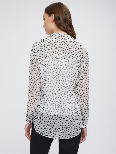 Легкая рубашка с принтом