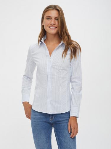 Рубашка из хлопка в полоску