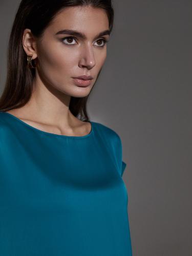 Блуза из струящейся вискозы