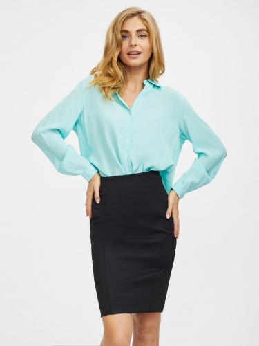 Рубашка из фактурной ткани