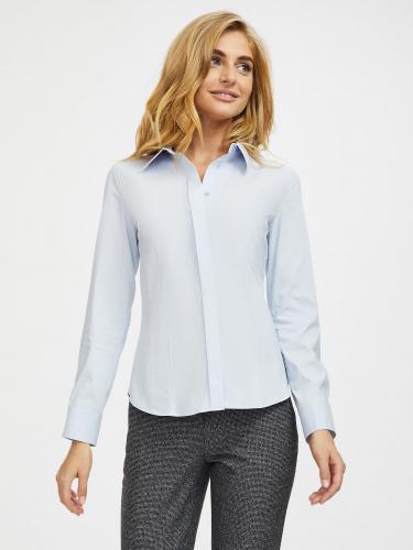 Рубашка из хлопка с рельефами