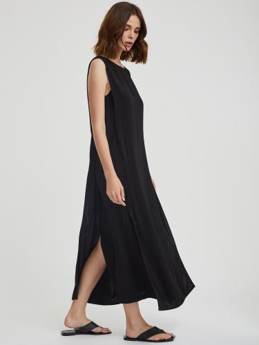 Двойное платье миди