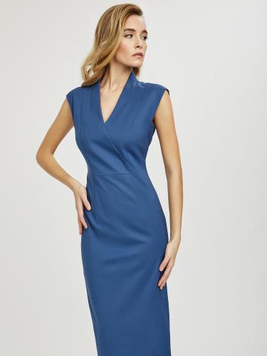 Облегающее платье из шерсти
