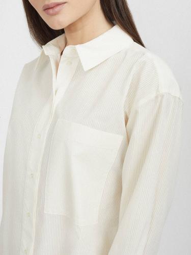 Рубашка оверсайз из хлопка