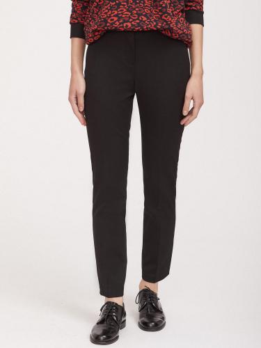 Эластичные брюки со стрелками
