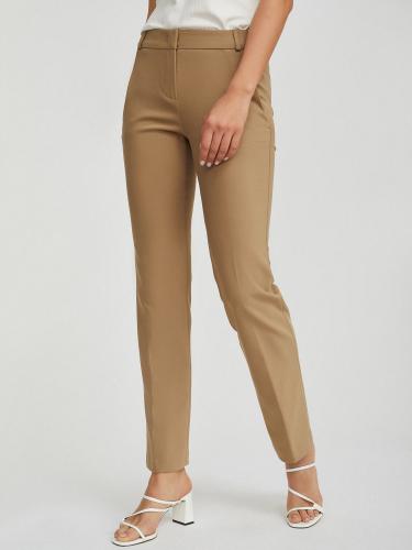 Прямые брюки из хлопка