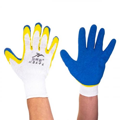 Перчатки х/б облитые односторонние 90гр (1/600)