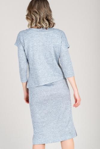 Платье и свитшот 55002