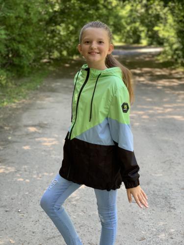 Куртка для девочек на флисе арт. 4713