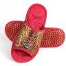 Массажные тапочки Красные-Узоры